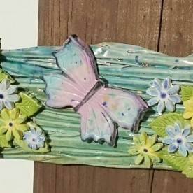butterfly-plaque