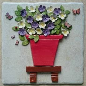 flowers-on-a-tile