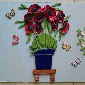 poppies-in-an-andalucian-blue-pot