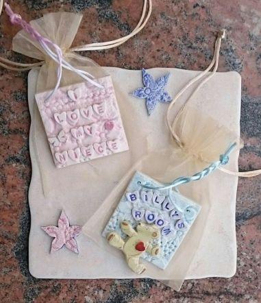 Porcelain gift plaques