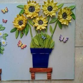 sunflower-pot-with-andalucian-blue-pot