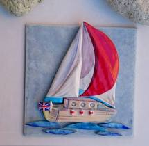 Boat plaque 1