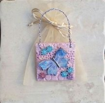 Butterfly plaque 1