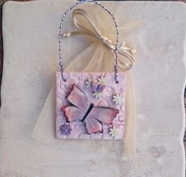 Butterfly plaque 3