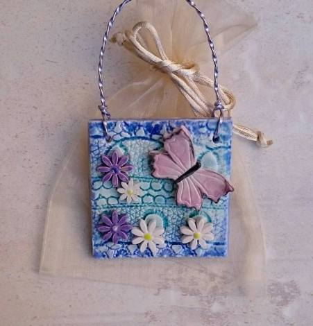 Butterfly plaque 4