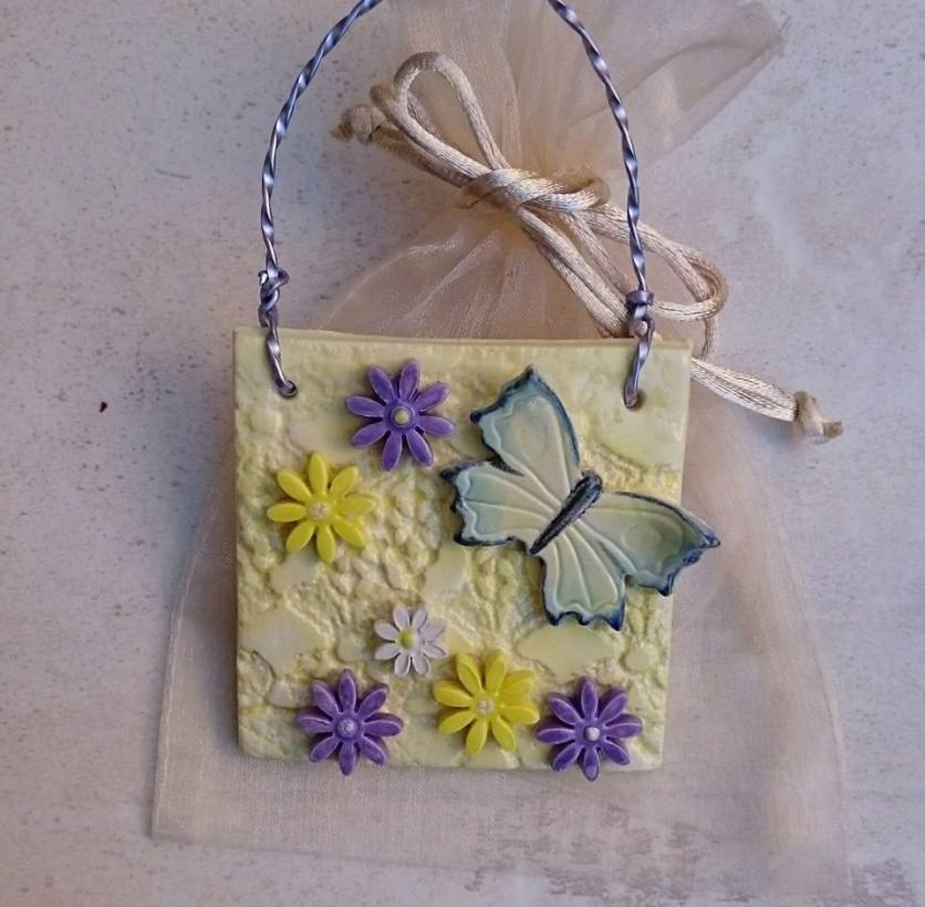 Butterfly plaque 5
