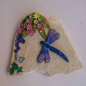 dragonfly-on-travertine