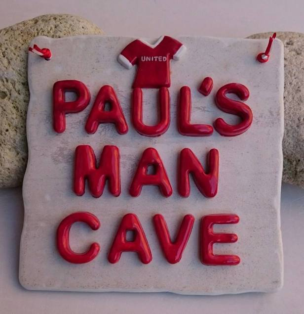 Paul's man cave