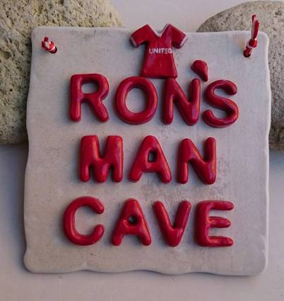 Ron's man cave
