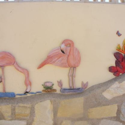 flamingos-and-flowers
