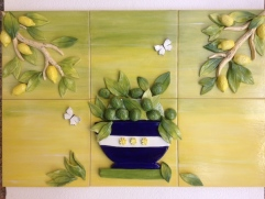 Lemon and Lime mural